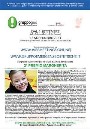 Webinar Premio Margherita-2021